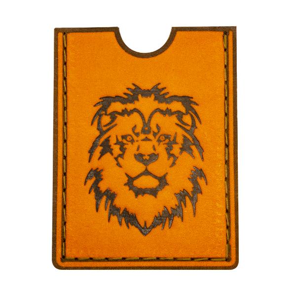 Картхолдер с изображением льва