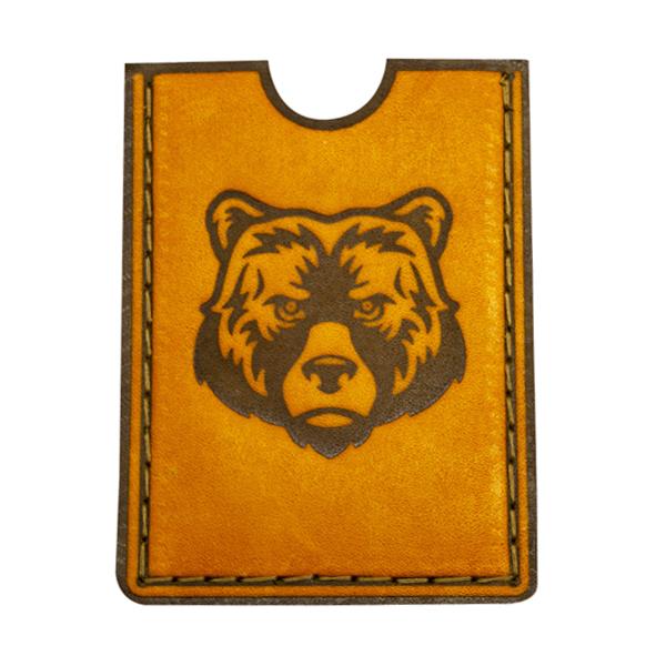 Картхолдер с изображением медведя