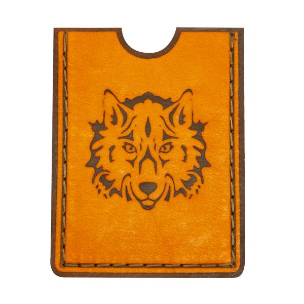 Картхолдер с изображением волка
